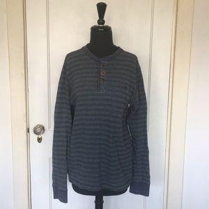 Men's Fat Face Three Button Sweater, S